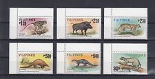 TIMBRE STAMP  6  PHILIPPINES Y&T#1121-26 FAUNE ANIMAL NEUF**/MNH-MINT 1979  ~B11