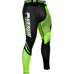 Venum Training Camp 2.0 Compression Spats - Black/Neon Yellow