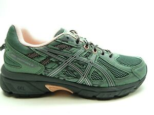 ASICS GEL VENTURE 6 SLATE GREY FROSTED ROSE ATHLETIC WOMEN SHOES