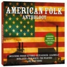 American Folk Anthology by Various Artists (CD, Jun-2008, 2 Discs, Not Now Music)