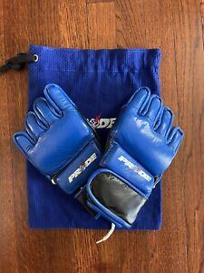 Official Pride FC Red bolt Gloves. Size Medium