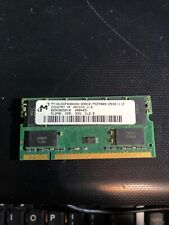512MB Micron PC2100 DDR1 Laptop Memory MT16VDDF6464HG Tested 333 Cl 2.5