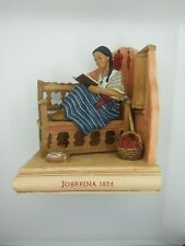 Hallmark American Girls Collection Josefina 1824 Bookend Figurine Htf