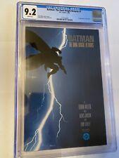 Batman The Dark Knight Returns 1 First Print CGC 9.2 WP, 1st Carrie Kelly