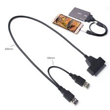 "USB 2.0 to 2.5"" SATA III Hard Drive Adapter Cable/SATA HDD SSD USB2.0 Converter"