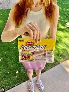 Berkley PowerBait Pogy Swim Shad Swimbaits, Bass Fishing, Free Shipping! (NWT!)