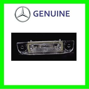 NEW OEM MERCEDES W140 300SEL 600SEC 1992-1999 License Plate Light Left = Right