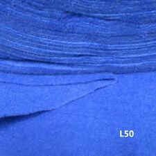 BLUE FELT FABRIC SHEETS SOFT FEEL ART&CRAFT CARD MAKING MATERIAL DRESSMAKING L50
