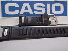 Casio Watch Band PRG-130 / PRW-1500 / PAW-1500  Pro Trek Tough Solar black Rubbe