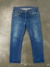 Levis LVC 1966 501, sz 32x32 (fit 34x30) Made in USA Vtg Faded Rigid Raw Selvage