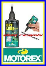 Olio lubrificante catena (secco) Bici MOTOREX DRY LUBE bicicletta MTB DBC