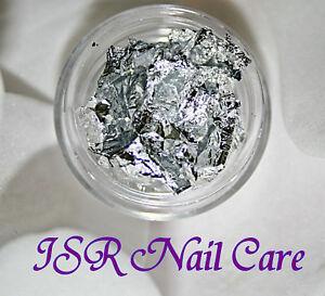 Nail Art Folie Silber Blattsilber Nailart Design Maniküre Fingernägel