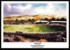 Geelong Football Ground postcard Kardinia Park 1951