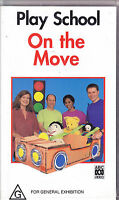 PAL VHS VIDEO TAPE :  PLAYSCHOOL: ON THE MOVE