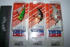 REBEL FISHING LURES LOT OF 3, WEE R, POP R, SUPER TEENY WEE  Trout, Bass, Bream*