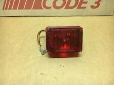 Kawasaki Kz 1000P LAPD OEM Tomar Waterproof Inter-Sector Replacement Strobe RED