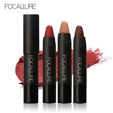 12 Colors FOCALLURE LipStick Moisturizer Lipsticks Waterproof Long-lasting