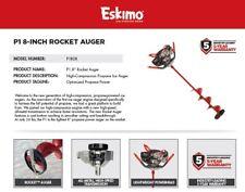 "P1R08 Eskimo 8"" Rocket Propane Power Ice Auger Warranty 5 Years"