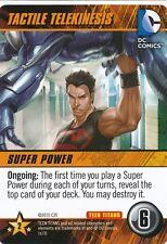 TECTILE TELEKINESIS DC Comics Deck Building Game TEEN TITANS SP card SUPERBOY