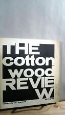 WIlliam D KNIEF / The Cottonwood Review Vol 1 No 2 Spring 1966 First Edition