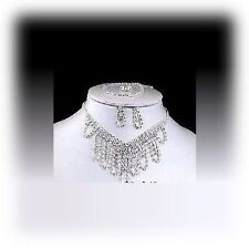 Acrylic Silver Plated Chain Costume Necklaces & Pendants