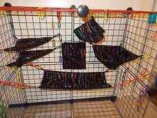 PAINT DRIPS   Sugar Glider 6 Piece Cage Set