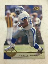 1996 Leaf Emmitt Smith Press Proof Die Cut Card Cowboys