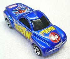2000 MAISTO 1/64 Diecast Purple Chevrolet SSR Spiderman Marvel Truck-China WV2-1