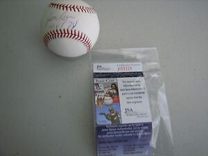 Jim Rice Autographed Signed OML Baseball - JSA