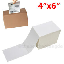 5001000 4x6 Fanfold Direct Thermal Shipping Labels For Zebra Amp Rollo Printers