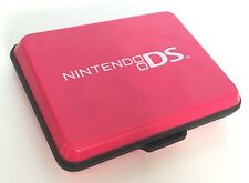 NINTENDO 3DS - PINK HARD COVER PROTECTIVE TRAVEL CARRY CASE