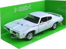 PONTIAC GTO 1969 1/24 Die Cast Model Car Metal Models Cars Metal Miniature