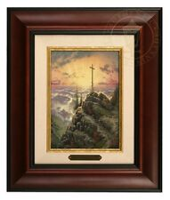 Thomas Kinkade Sunrise - Brushwork (Burl Frame)
