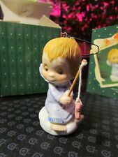 Vintage 1983 Betsey Clark Hallmark Keepsake Porcelain Christmas Ornament, Excell