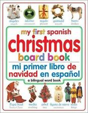 NEW My First Christmas Board Book: Spanish/English (My First Board Books,...