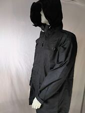 "British Forces Black Ripstop Field Smock / Hooded Jacket Size 170/104 (40""chest)"
