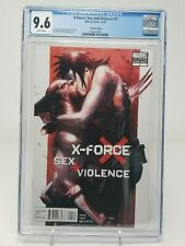 X-Force Sex and Violence Del'Otto 2nd Printing Variant CGC 9.6 NM+ NYX Wolverine