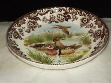 "Spode Woodland Wood Duck  9"" PASTA BOWL Made in England NEW"
