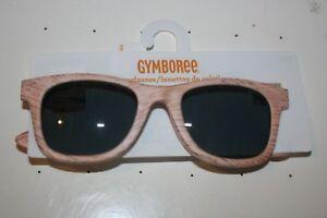 New Gymboree Natural Woodgrain Sunglasses 4 + Years NWT Hello Havana Line Boys