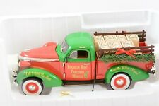 Franklin Mint Diecast 1:24 1937 Studebaker, 2013 Christmas Truck, Le of 1000