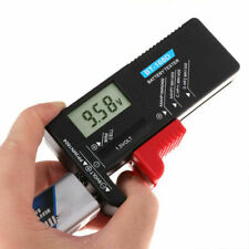 Volt Checker Battery Tester Universal Multiple Portable for AA 9V Button Digital