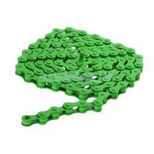 "1/2"" x 1/8"" Bike Chain Fixed Gear Track BMX Single Speed Cruiser Green"