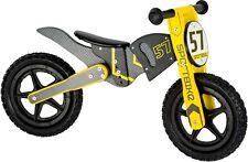 Laufrad Motocross Bike Holz ca. 85 x 37 x 50 cm  Sitzhöhe ca. 37 – 40 cm
