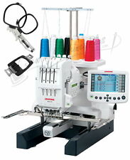 Janome MB-4S Commercial Embroidery Machine New W/ FREE $550 Bonus KIt New