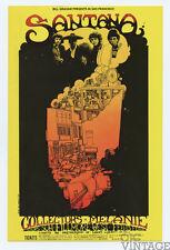 Bill Graham 160 Postcard Santana Collectors Melanie 1969 Feb 13