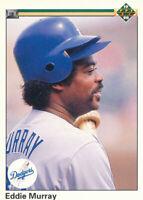 Eddie Murray 1990 Upper Deck #277 Los Angeles Dodgers baseball card