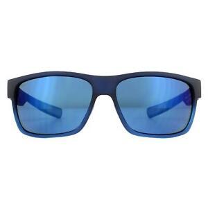 Costa Del Mar Sunglasses Half Moon HFM 181 Black Tortoise Grey Mirror Plastic