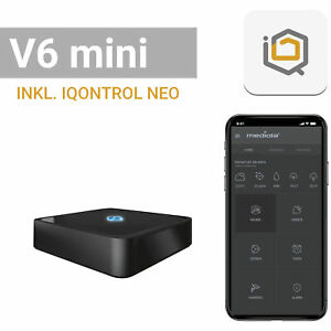 mediola AIO Gateway V6 mini, inkl. IQONTROL NEO-App für z.B. Homematic IP, Homem