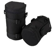 New Soft DSLR Camera Lens Bag Pouch Case Protector Size;8.5cm height 15cm