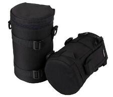 Black New Soft DSLR Camera Lens Bag Pouch Case Protector Size;10.5cm*16cm